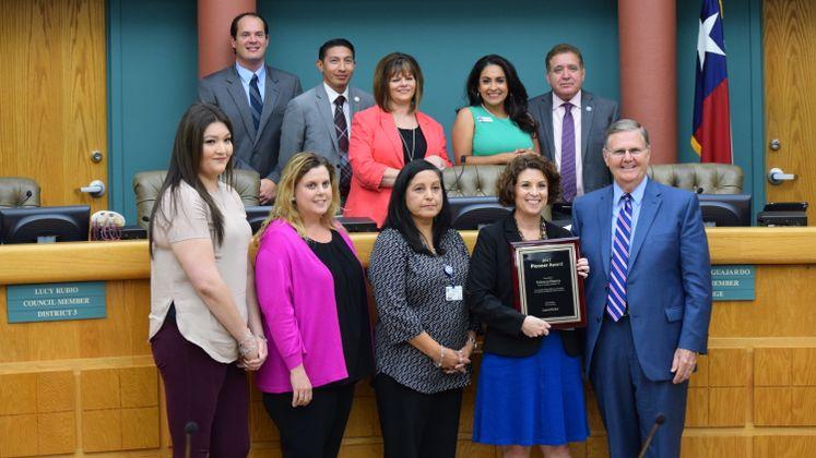 City Secretary Pioneer Award