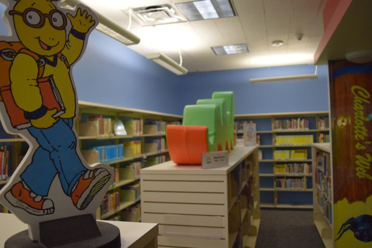 Children's Library at La Retama