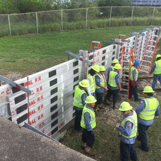 Utility Teams Participate in Storm Surge Gate Training