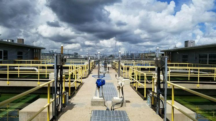 ONSWTP Filtration Basins