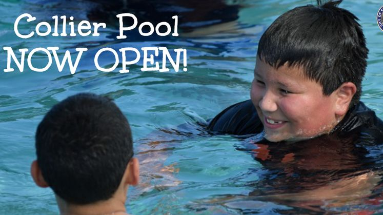 Collier Pool Now Open!