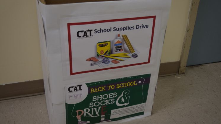 CAT School Supply Drive
