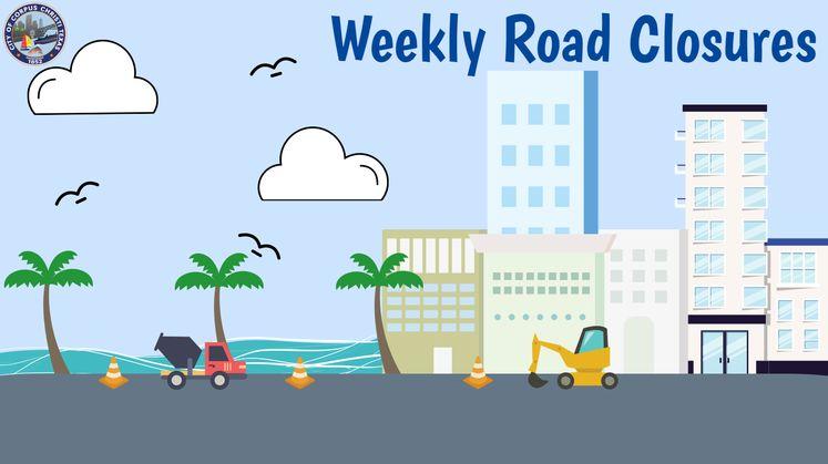 Weekly Road Closures 2 Carousel Update