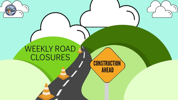 Weekly Road Closures Carousel Update