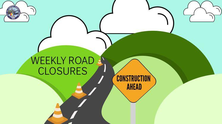 Weekly Road Closures Carousel Update