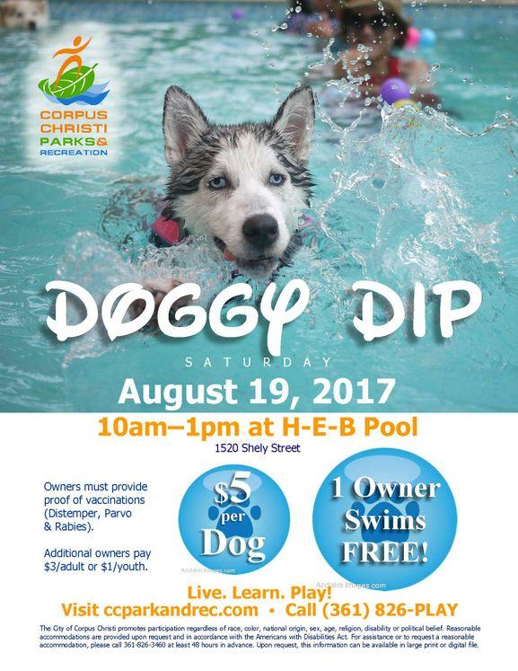 Doggie Dip Flyer