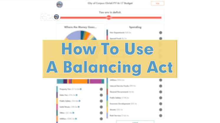 How to Use A Balancing Act