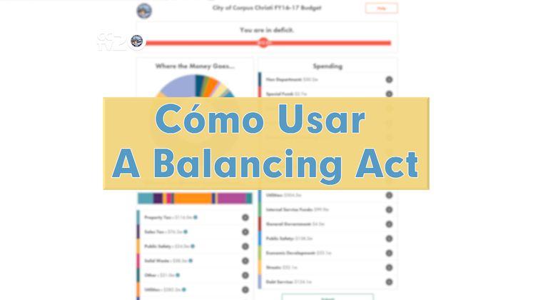 Cómo Usar A Balancing Act