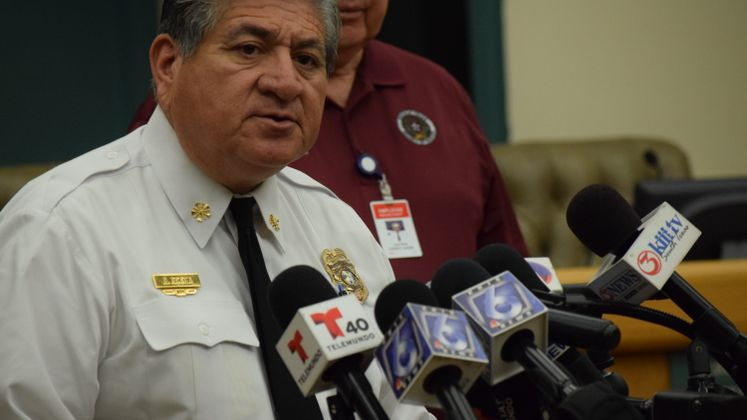 CCFD Chief R. Rocha on Hurricane Harvey