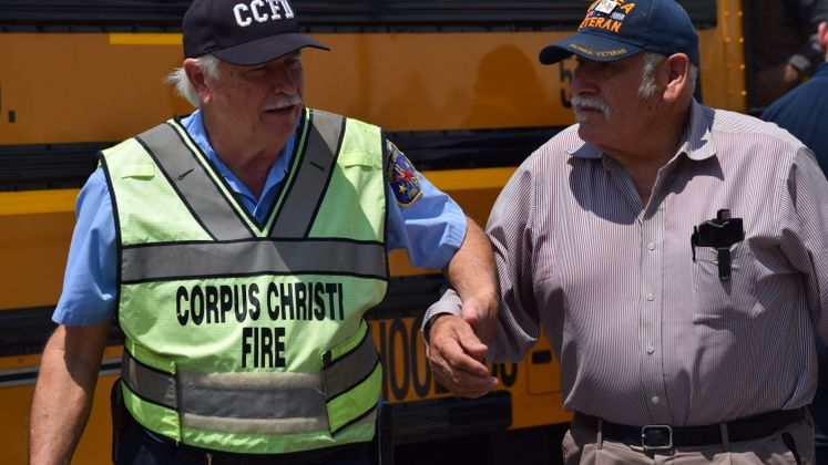 Harvey Evacuees Return to Corpus Christi