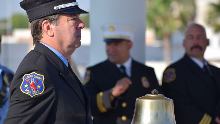 911 Ceremony At Sherrill Park