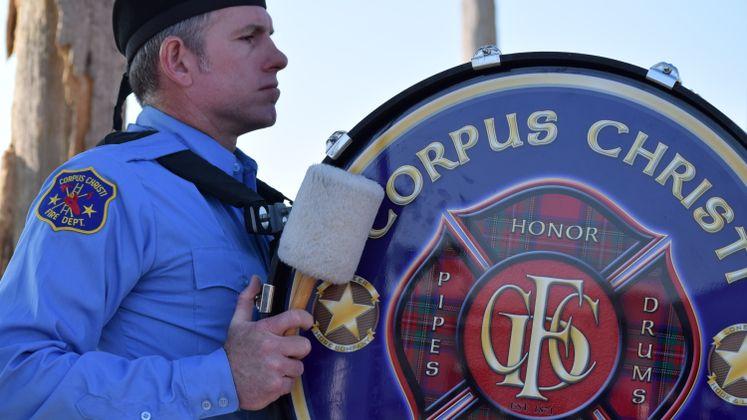 911 Ceremony At Sherrill Park
