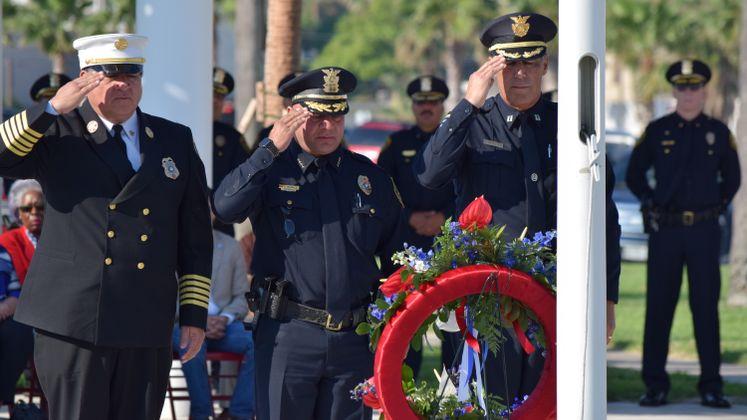 9/11 Ceremony Sherrill Park
