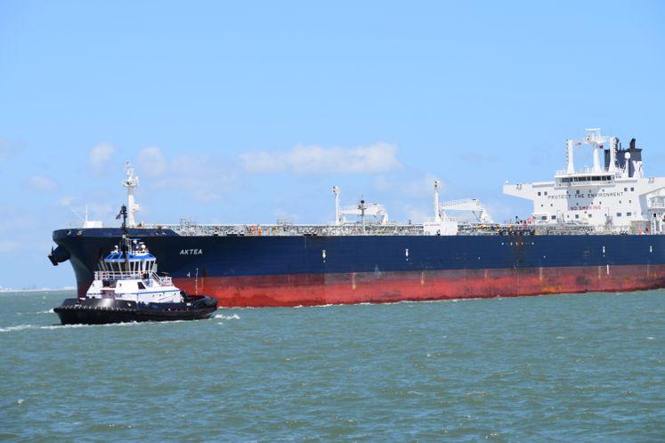 Vessel at Port of Corpus Christi