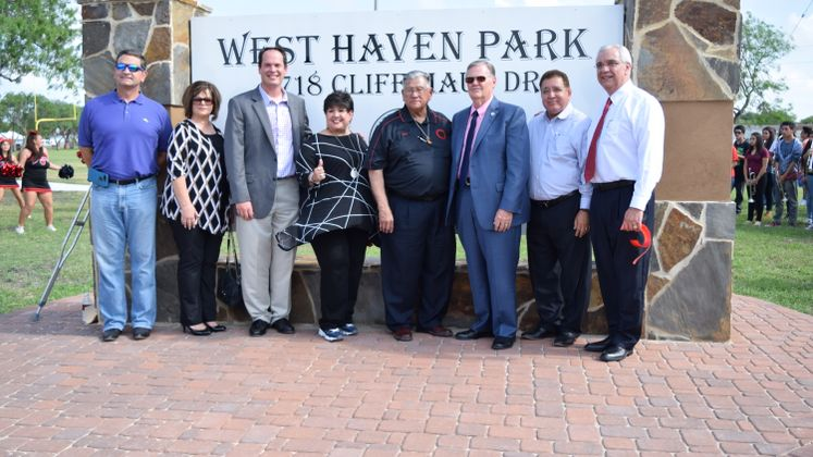 Westhaven Park Ribbon Cutting