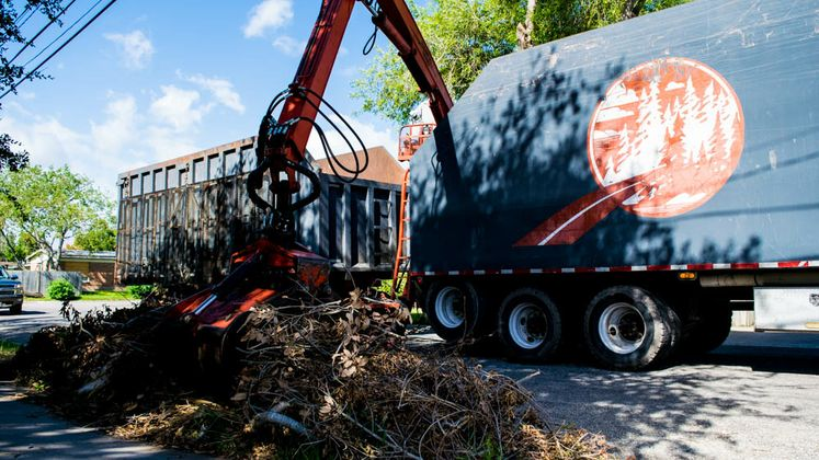 Solid Waste Contractors Brush Pick-Up