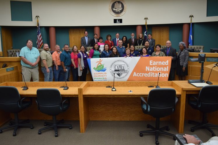 Parks and Recreation Department Earns National Accreditation