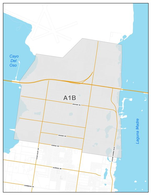 Area 1B Map