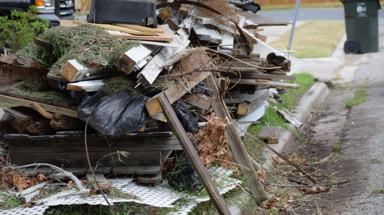 Harvey Debris Pick-Up