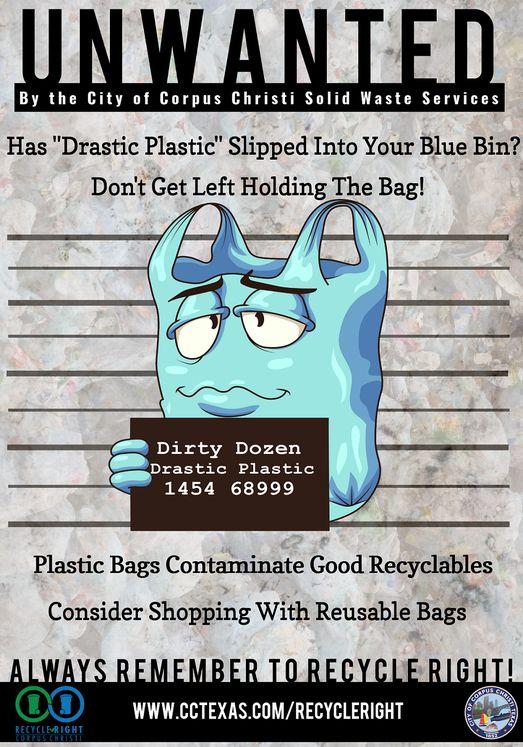 Drastic Plastic Poster