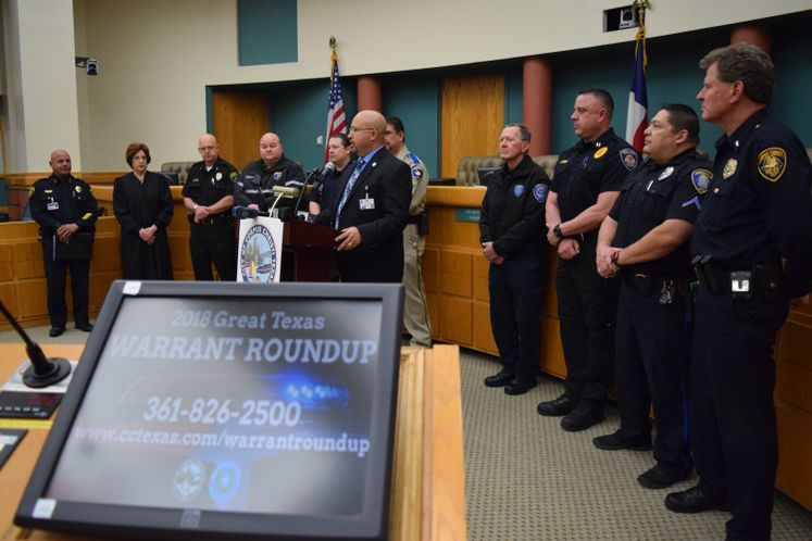 Great Texas Warrant Roundup 2018