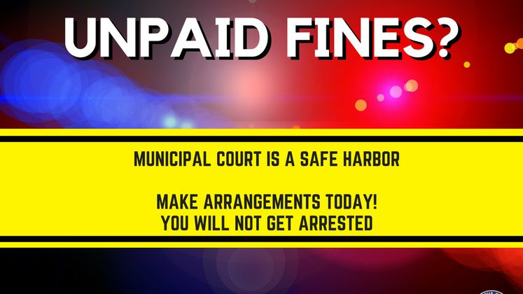 Unpaid Fines