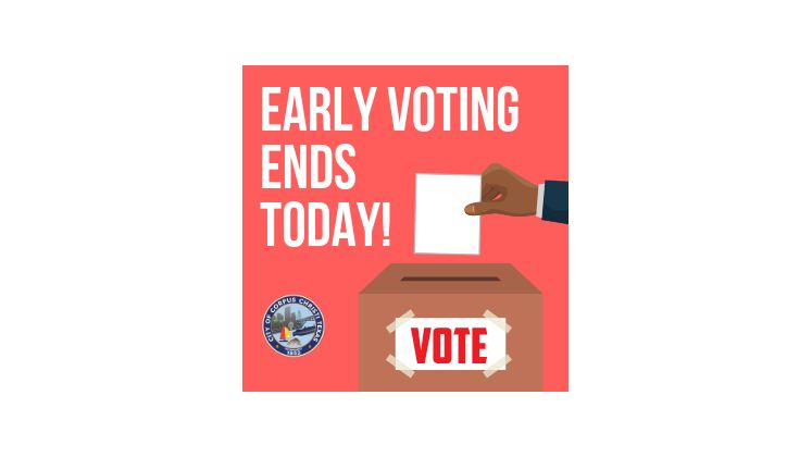 Last Day to Early Vote Thumbnail