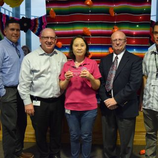 Utilities Employee Named 2018 City  Employee of the 4th Quarter