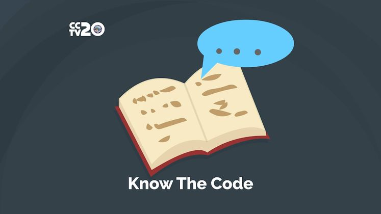 Know Your City's Code of Ordinance