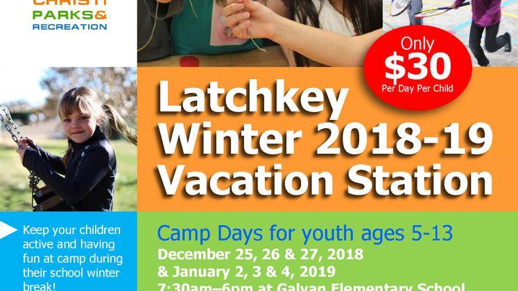Winter Break Latchkey
