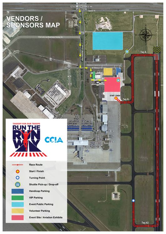 Run the Runway Media Map