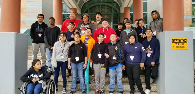 Miller High School Students Tour City Hall