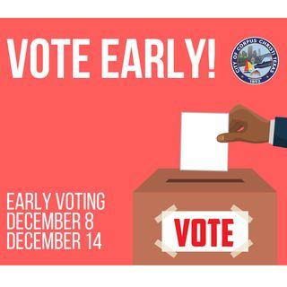 El último día votación por anticipado es el 14 de diciembre de 2018.