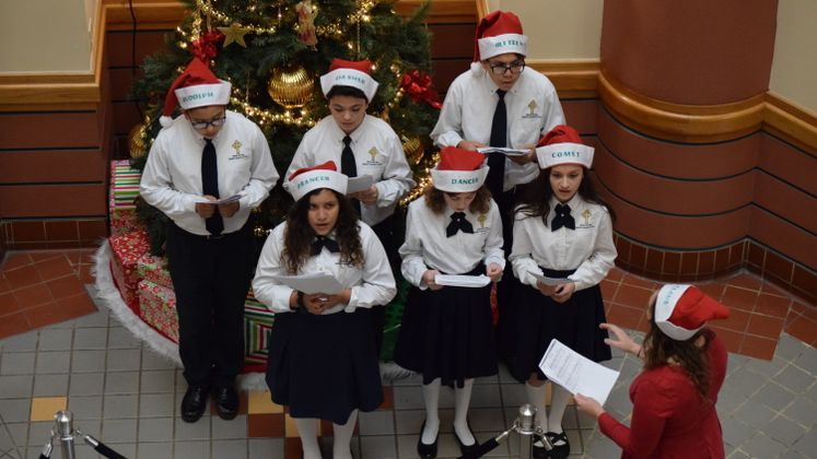 Bishop Garriga's Choir at City Hall
