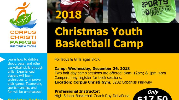 Youth BB Camp Flyer