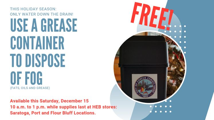 Free Containers Saturday 12-15-18