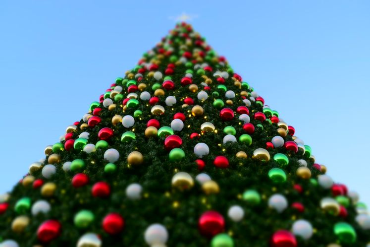 Giant Christmas Tree