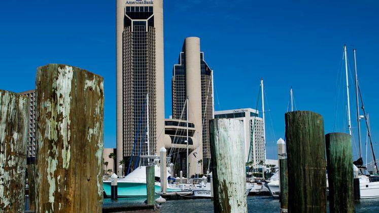 Beautiful Day at the Marina