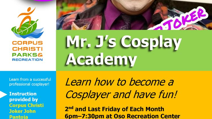 Cosplay Academy Flier
