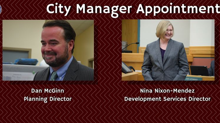 City Manager Appointments