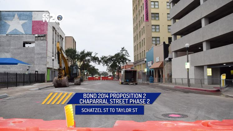 Chaparral Street Phase 2 Completed