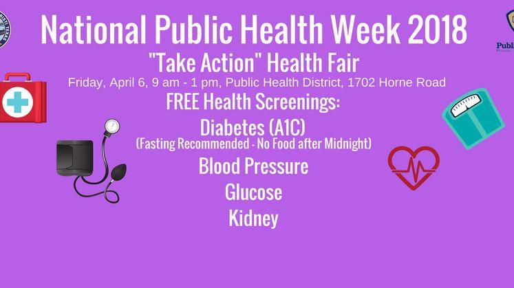 National Public Health Week 2018 1