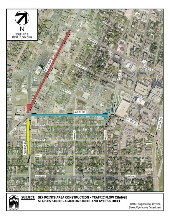 Six Points Area Construction Map_201804031605
