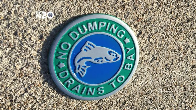 Sign up to place storm drain markers