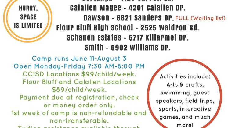 Latchkey Summer Camps Registration