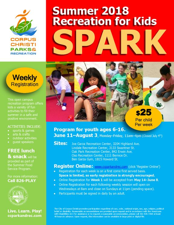 SPARK Summer Youth Program