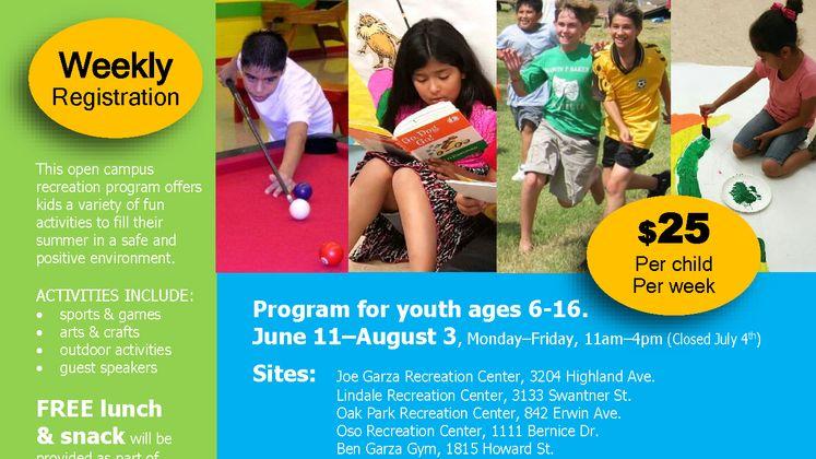 SPARK Summer Youth Program