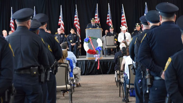 Peace Officers Memorial Ceremony 2018