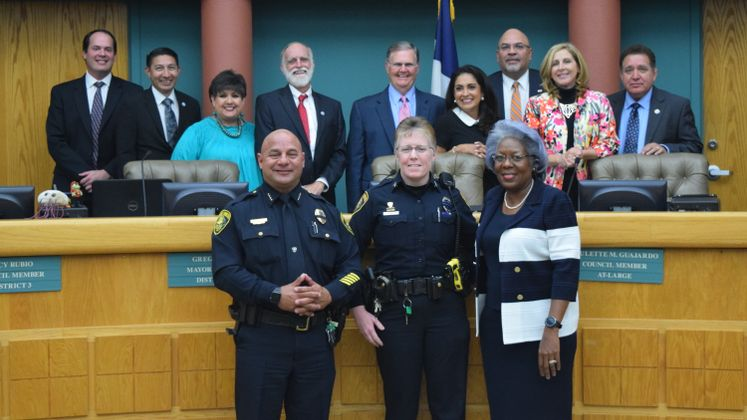 S. Baldwin, CCPD Officer of the Year