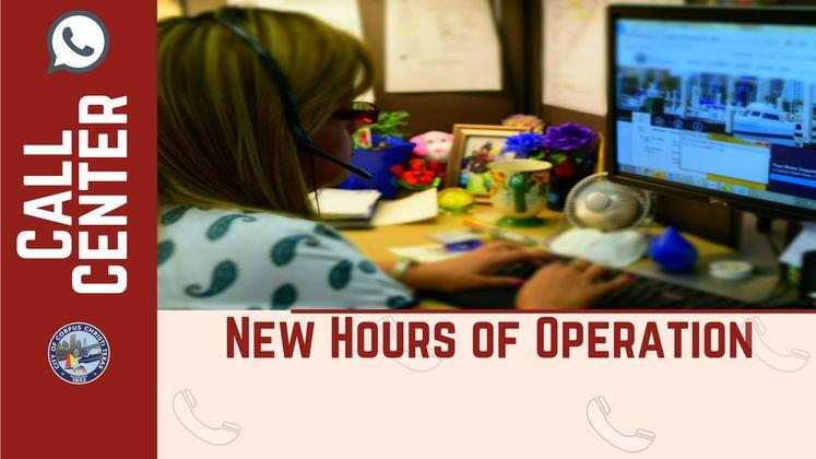 Call Center New Hours